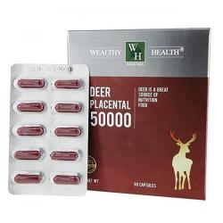 Wealthy Health-Deer Placental 50000 60 Capsules