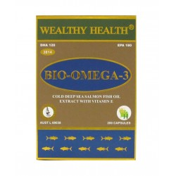 Wealthy Health - Bio Omega 3 200 Capsules