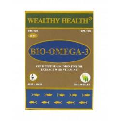Wealthy Health-Bio Omega 3 200 Capsules