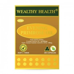 Wealthy Health-Evening Primrose Oil 200 Capsules