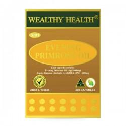 Wealthy Health-Evening Primrose Oil 200 Capsules (EXP: 11/21)