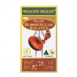 Wealthy Health-Maxi Blood Sugar Balance 60 Tablets