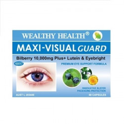 Wealthy Health-Maxi Visual Guard 60 Capsules