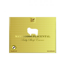 Well Being Nutrition-Maxi 50000 Placental Baby Sheep Essence 100 Capsules