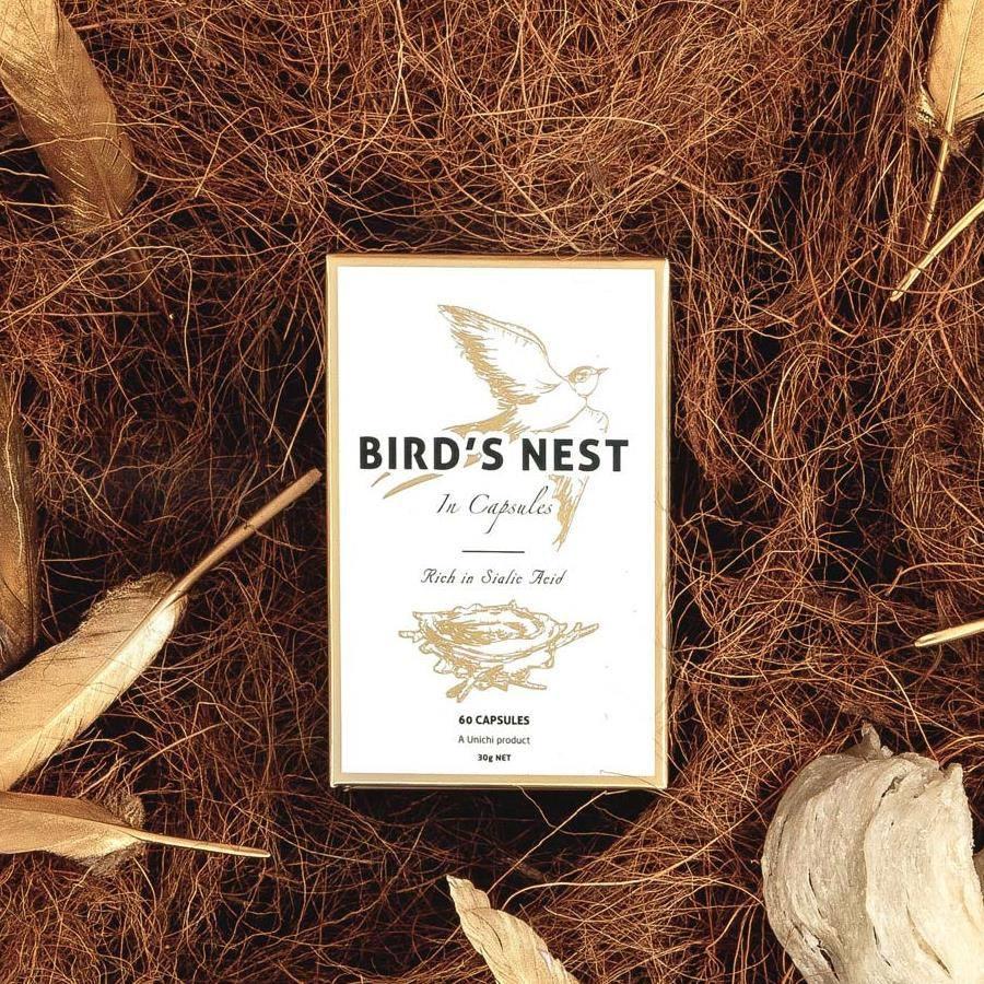 Image result for Unichi Bird's Nest 60 Capsules