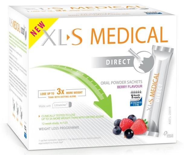 Xls Medical-Direct Weight Loss Diet Fat Binder 90 Sachets