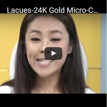 Lacues-24K Gold Micro-Current V-Face Slimming Massager