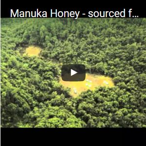 Manuka Honey - sourced from New Zealand's remote locations