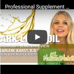 Professional Supplement Review - Shark liver oil