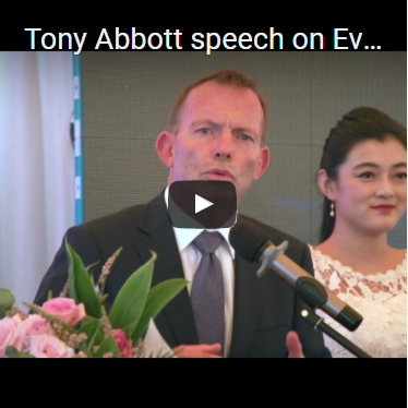 Tony Abbott Speech on Event of Chantelle New Product Release
