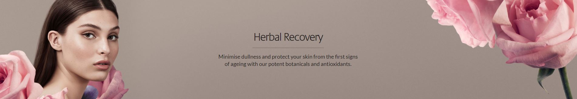 Herbal Recovery Inspiring Banner